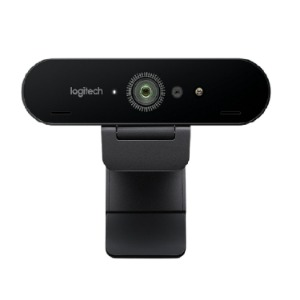 BRIO ULTRA HD PRO WEBCAM , 4K webcam with HDR and Windows Hello support , Logitech
