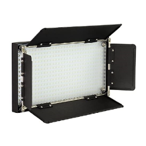 508 LED Dimmable, Dual Color Photo/Video Light Kit Half daylight 5600K, Half Tungsten 3200K   LED 508AS prolite