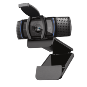 Full HD 1080p Business Webcam with Attached 1.5 Cable   C920e logitech